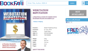 Webutation The Book in Bookfari